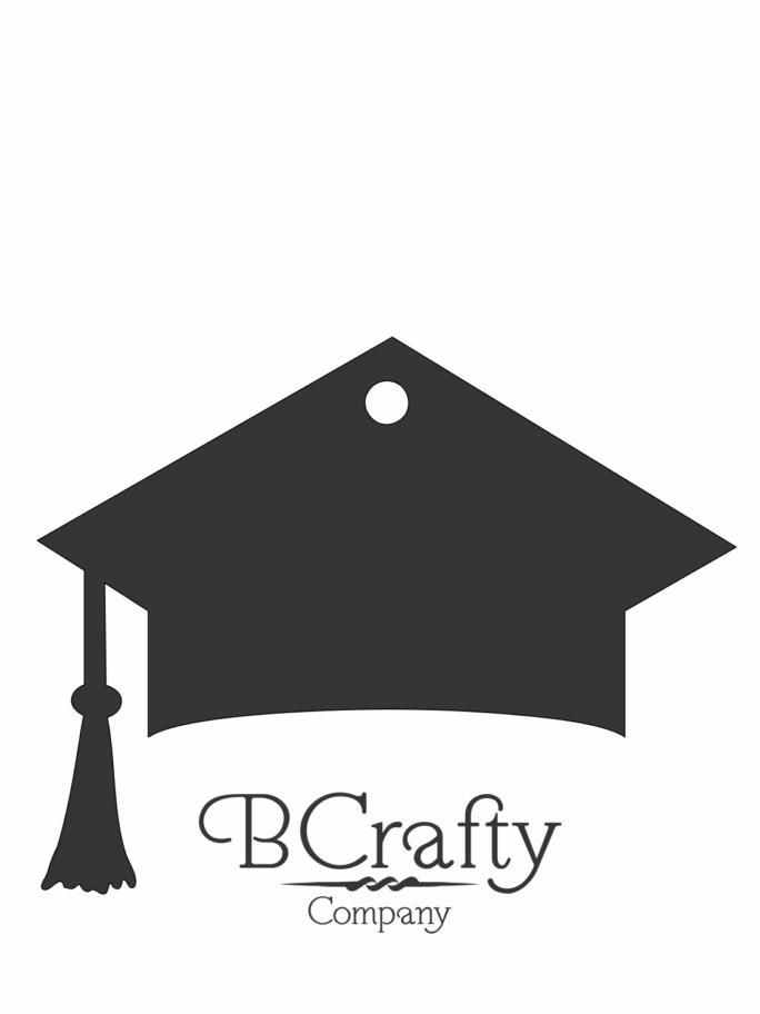 C1030030 Acrylic Graduation Cap Blank