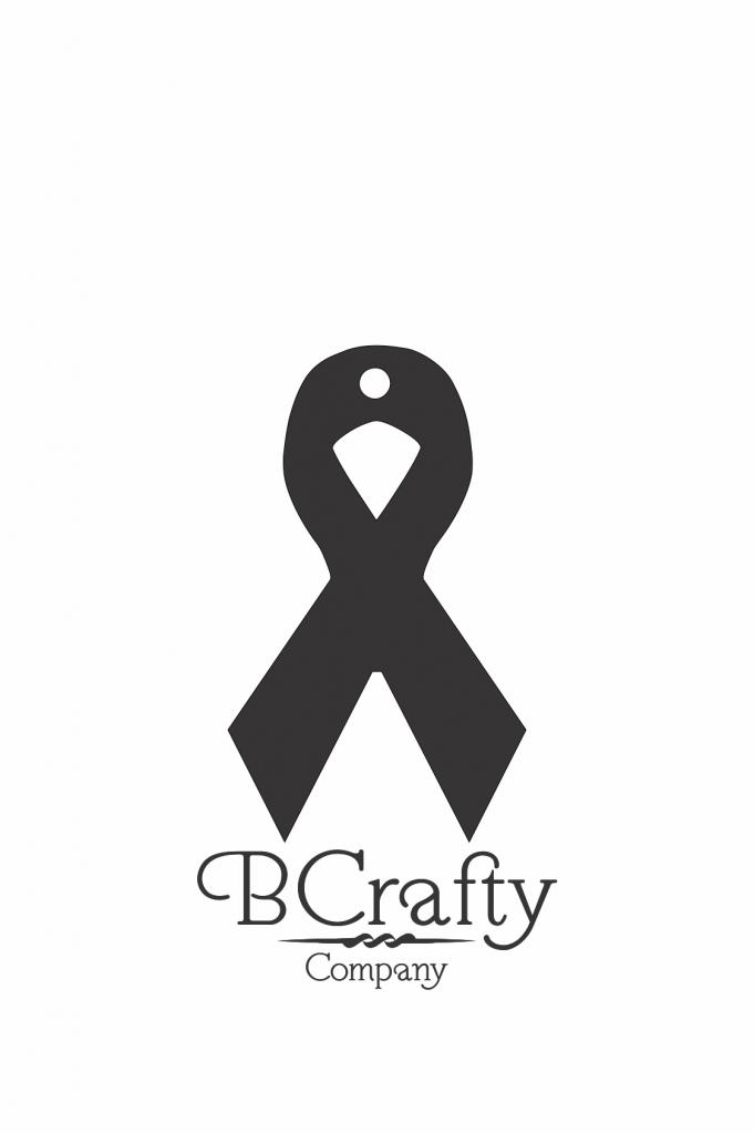 C1030028 Acrylic Ribbon Cutout