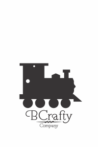 C1030065 Acrylic Train Blank