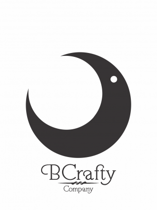 C1030068 Acrylic Crescent Moon Blank