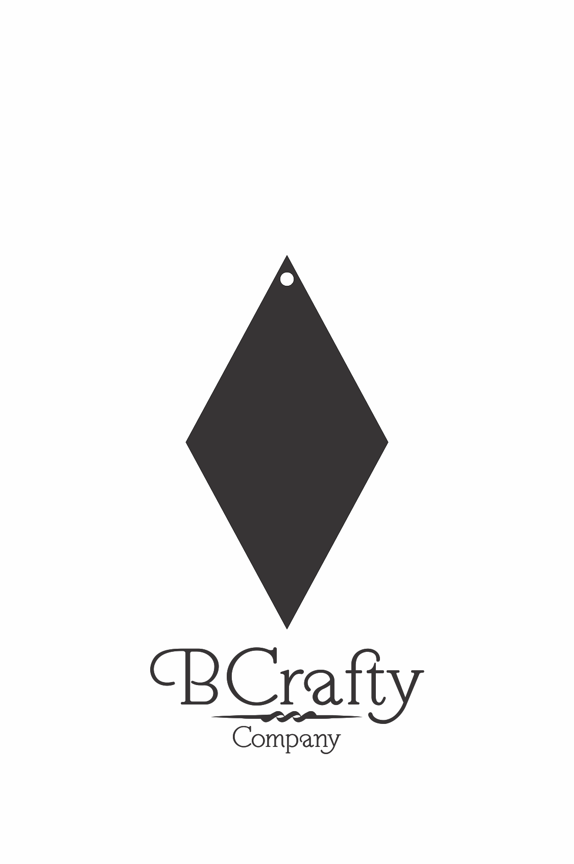 C1030111 Acrylic Diamond Blank