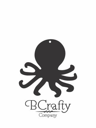 C1030228 Acrylic Octopus Blank
