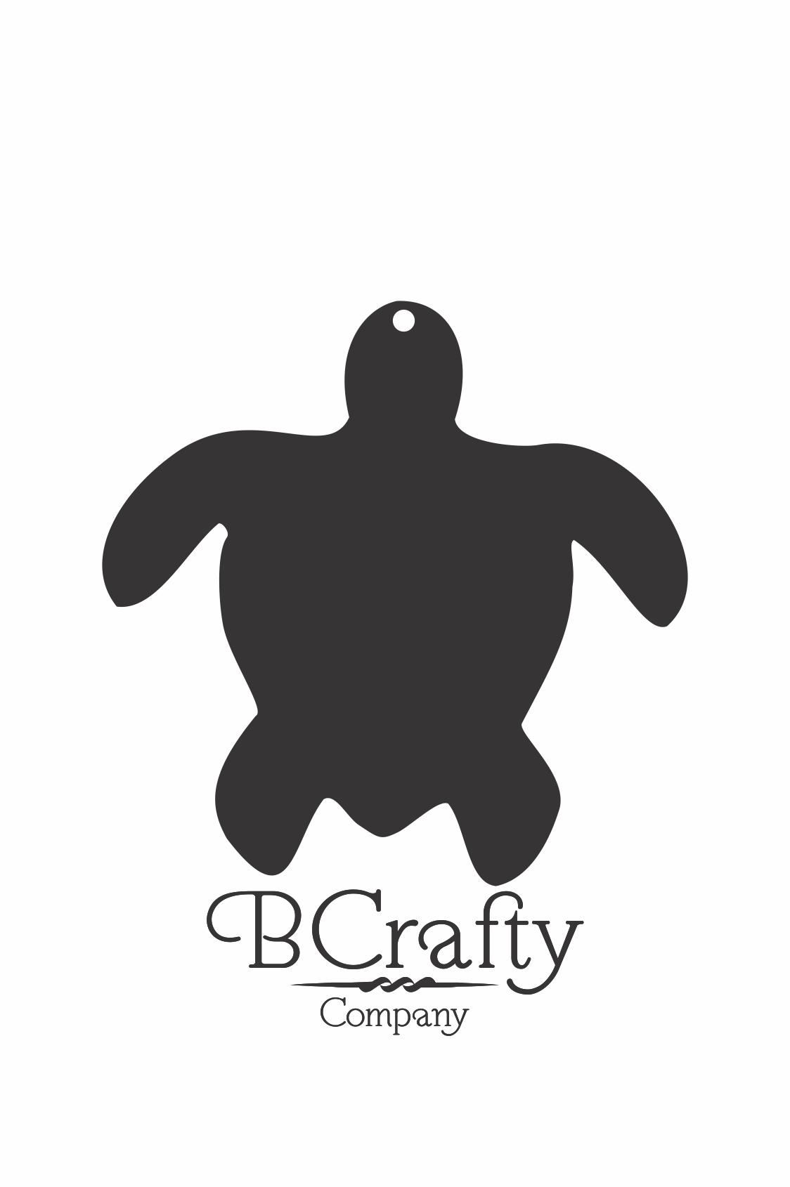 C1030229 Acrylic Turtle Blanks