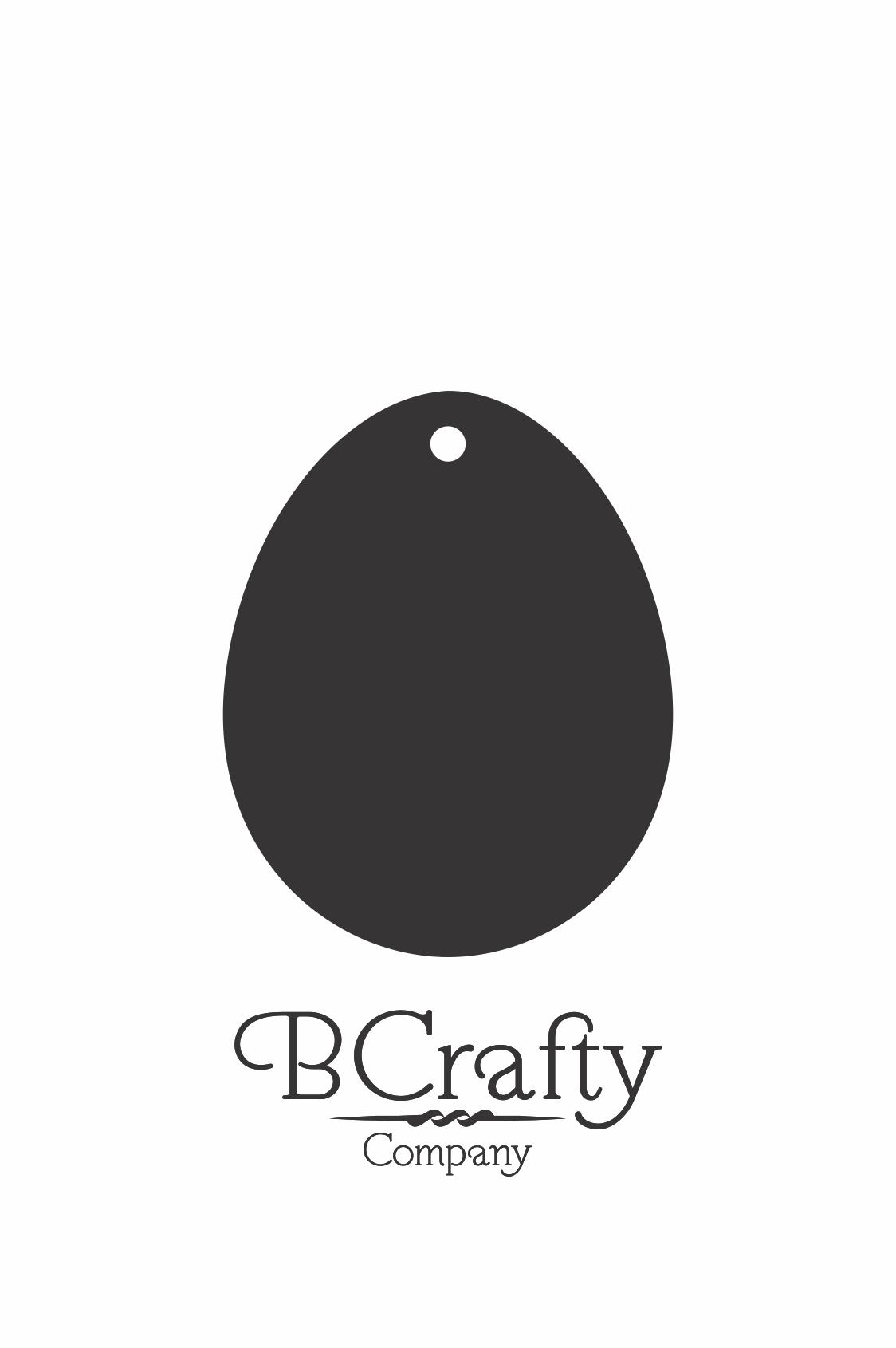 C1030251 Acrylic Egg Blank