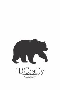 C1030282 Acrylic Bear Blank