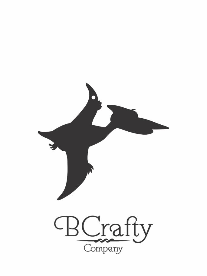 C1030238 Acrylic Pteryodactyl Blank