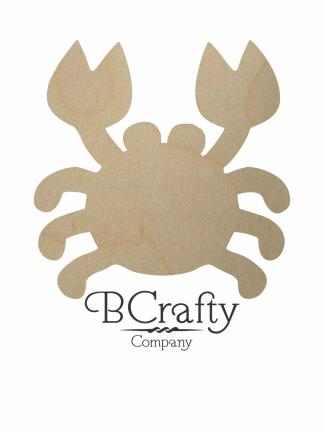 Wooden Crab Cutout