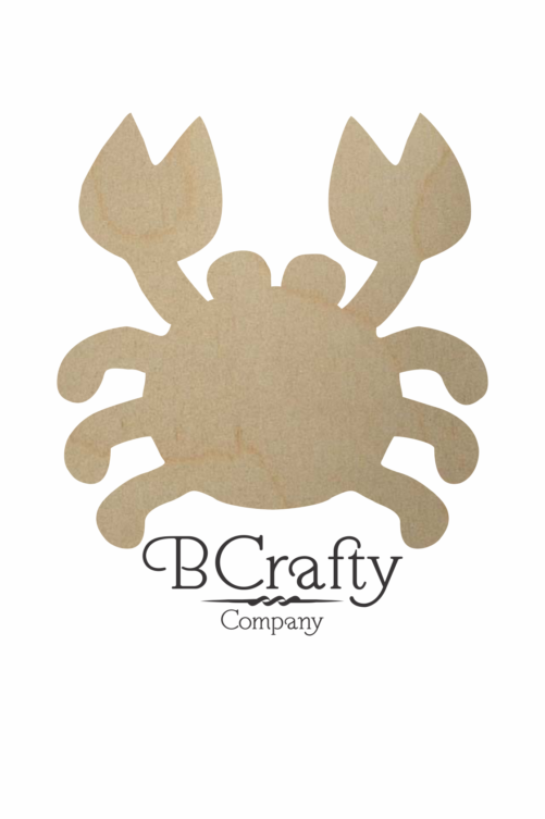 Wooden Crab Cutout
