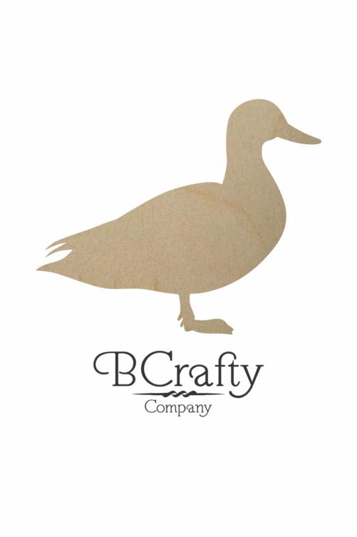 Wooden Duck Cutout