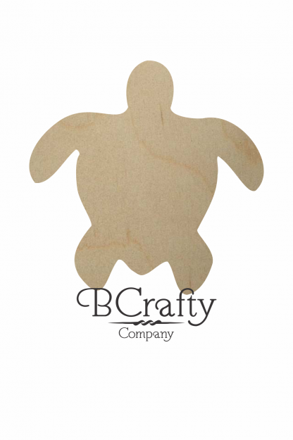 Wooden Turtle Cutout